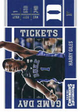 Harry Giles 2017-18 Panini Contenders Draft Picks Game Day Tickets #10