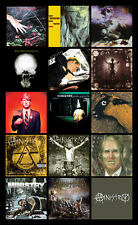 "MINISTRY album discography magnet (4.5"" x 3.5"") industrial butthole surfers"