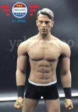 1/6 Captain America Chris Evan Head 6.0 w/ PHICEN M33 Seamless Muscular Body set
