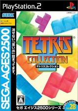 Used PS2  Sega Ages Vol. 28: Tetris Collection  SONY PLAYSTATION JAPAN IMPORT