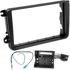 VW GOLF MK5 DOUBLE DIN STEREO FITTING KIT FACIA WIRING ADAPTOR PANEL FASCIA