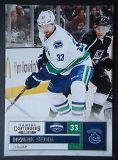 NHL 44 Henrik Sedin Vancouver Canucks Panini Contenders 2011/12