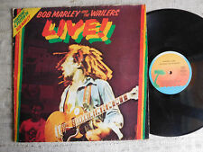 Bob Marley And The Wailers – Live!  - - LP NO POSTER