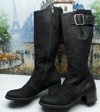 PAUL GREEN 'Optimist' Tall Buckled Boots - Size 9.5 US / 7 UK - $379