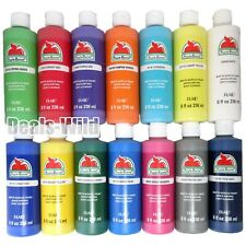 Big 8oz Apple Barrel Acrylic Paint Matte - Mix & Match Any Colors Build a Set
