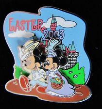 Disney Pin Easter 2003 Mickey & Minnie New Le 2000