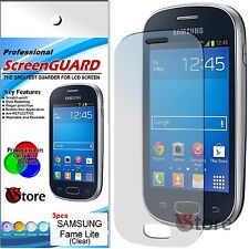 3 Film For Samsung Galaxy Fame Lite S6790 Films Protector Save Display