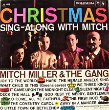 CHRISTMAS SING-ALONG W/MITCH MILLER & theGANG COLUMBIA GATEFOLD ALBUM 33LP 1958