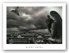 CITYSCAPE ART PRINT The Storm Watcher Mikel Covey
