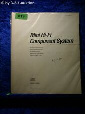 Sony Bedienungsanleitung MHC 2600 Mini Hifi Component System (#0819)