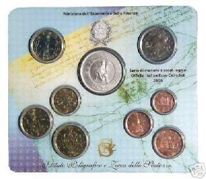 2006 9 pièces 8,88 EURO BU ITALIE fdc ITALIA ITALY KMS ITALIEN Италия 5 60 Repub