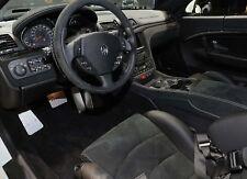Maserati GranTurismo MC Stradale Alcantara Floor Mats with Carbon Fiber Option
