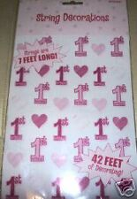 ITS A GIRL PARTY  STRING DECORATIONS (NEW) (42FT)