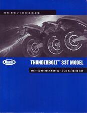 HARLEY Wartungshandbuch BUELL 2002 Thunderbolt S3T 99489-02Y Reparaturanleitung