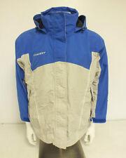 Columbia Convert Fleece Lined Blue & Gray Jacket Women's Size Large GREAT