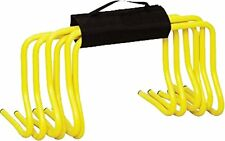 "OSG Set Of 6 Soccer Speed Agility Training 6"" Hurdles With Carry Strap"