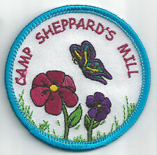 South Jersey Pines Girl Scout Patch - Camp Sheppard's Mill (GS Central & So NJ)
