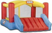 Little Tikes Inflatable Jump 'n Slide Bounce House w/heavy duty blower IN HAND