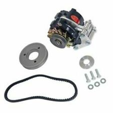 Powermasters 8-881 Alternator 100 Amp Snug Mount Black For Chevy Small Block V8