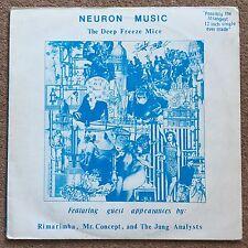 The Deep Freeze Mice Neuron Music Mini Vinyl LP Rare Has Original Insert