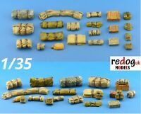 Redog 1/35 Military Scale Modelling Resin Stowage Diorama Accessories Kit 3