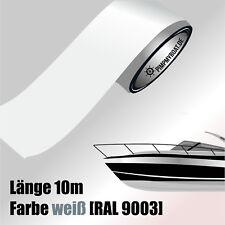 ZIERSTREIFEN 10m WEIß 50mm Auto Boot Jetski Modellbau Vinyl Dekorstreifen 5 cm