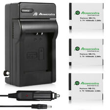 NB11L NB-11L Battery for Canon PowerShot ELPH 110 A2300 A4000 A3500 IS + Charger
