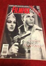 Vintage FILMFAX Magazine 45 Film Television SciFi Horror TV Flash Gordon Shadow