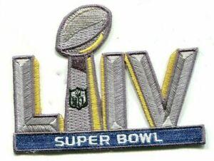 NFL 2/2/2020 Hard Rock Stadium SUPER BOWL LIV 54 SB LIV 54 Jersey iron-on Patch