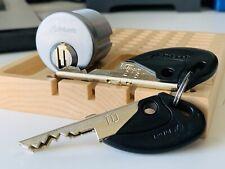 Bilock EX Australian Lock Co. High Secuirty Mortise w/ 2 Keys New