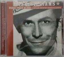 HANK WILLIAMS Honky Tonk Blues CD Made in Australia in 2002 Ultra Rare