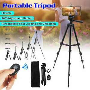 Universal Mobile Phone Tripod Stand Grip Holder Mount For Cameras Phones Travel