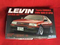 Fujimi ID9 Toyota CORROLA LEVIN 1600 GT-APEX 3Door AE86 '83 Plastic Model Kit
