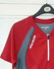 Madison Club Women's Short Sleeve Jersey M:TEC Reflective Size 12 New RRP £39.99