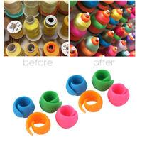 8/16/24/32/40/48pc Sewing Thread Reel Clip Thread Spool Huggers Unwind Loose RO