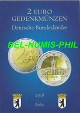 DUITSLAND I 2018 - Charlottenburg - BERLIJN - 5 x 2 Euro in POCKET - UNC