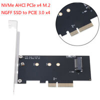 NVMe AHCI PCIe x4 M.2 NGFF SSD to PCIE 3.0 x4 converter adapter c_ft