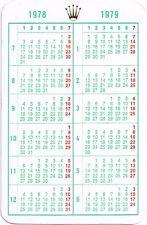 1978 Calendario.Rolex Submariner 1978 Ebay