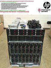 HP C7000 G2 16x HP BL460c G6 128-Cores 1024GB 1TB RAM 27.6TB 4Gbit SAN Solution