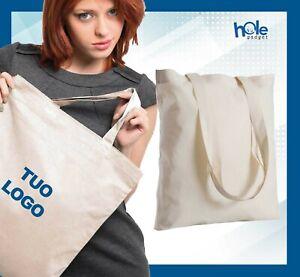 Shopper in cotone personalizzate Shopping Bag Borsa personalizzata Gadget 2