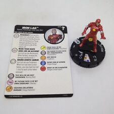 Heroclix Marvel's What If? set Iron Lad #006 Common figure w/card!