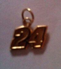 Jeff Gordon #24 14k Gold Pendant