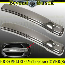 1999-2006 CHEVY SILVERADO GMC SIERRA 2dr Chrome Door Handle LEVER Covers Trims