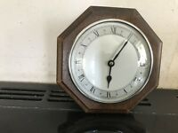 Vintage Oak Cased Wall Clock