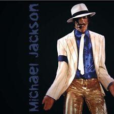 """Michael Jackson """"Smooth Criminal"""" weiss Krawatte (Breite 4.5cm) für MJ Fans0561"""