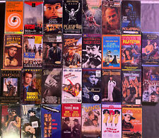 lot 30 sealed Vhs tapes A+ titles Pulp Fiction Rollerball Time Bandits Platoon