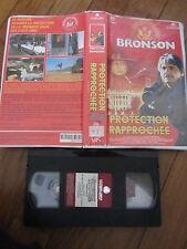 Protection rapprochée de Peter Hunt avec Charles Bronson, VHS, Policier, RARE!!