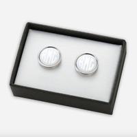 Personalized Round Monogram Cufflinks