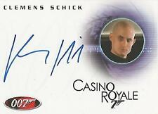 """James Bond In Motion - A103 Clemens Schick """"Kratt"""" Autograph Card"""