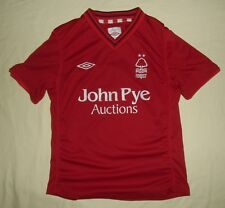 Nottingham Forest / 2012-2013 Home - UMBRO - JUNIOR Shirt / Jersey. Size: SB 134